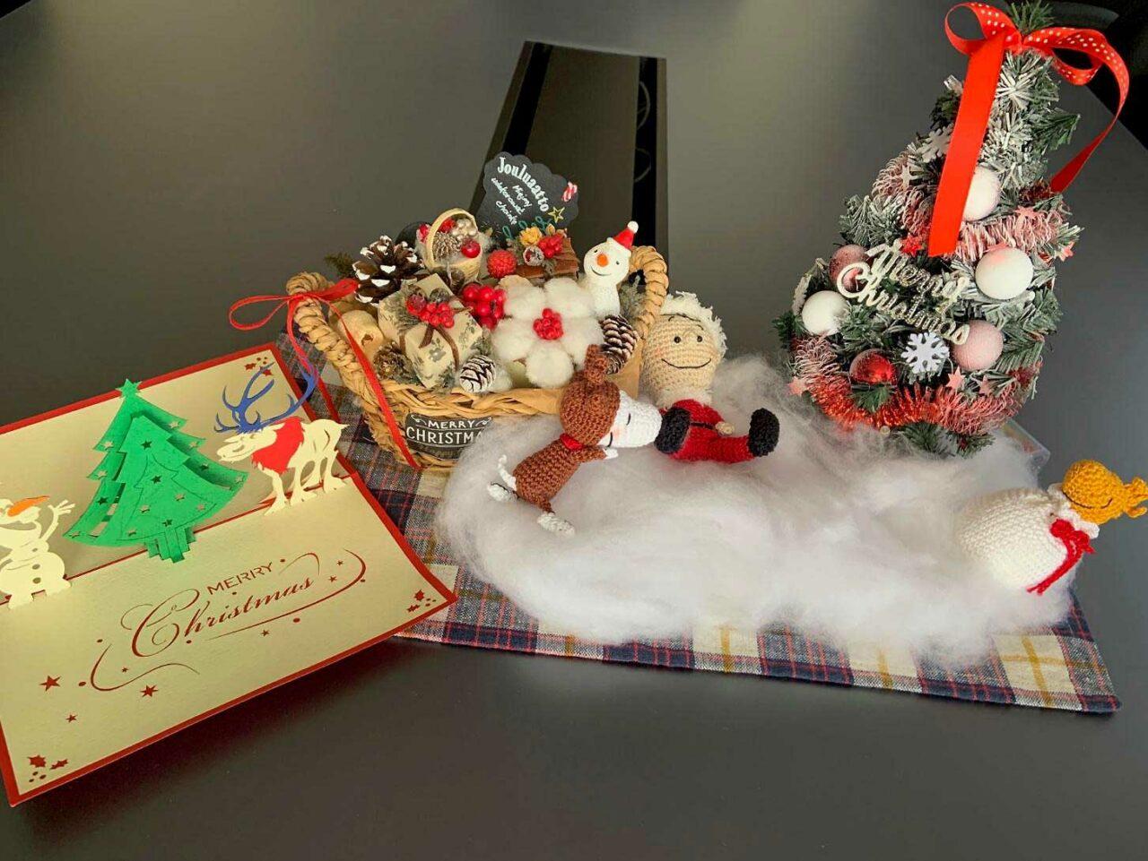 社長室のクリスマス飾り